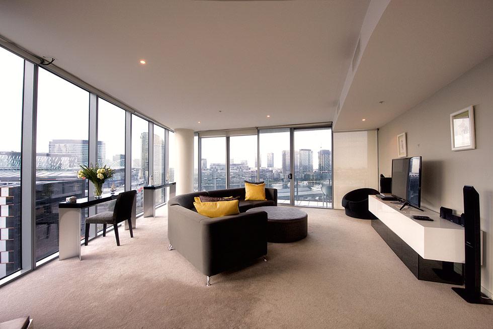 3 Bedroom Serviced Apartment Melbourne